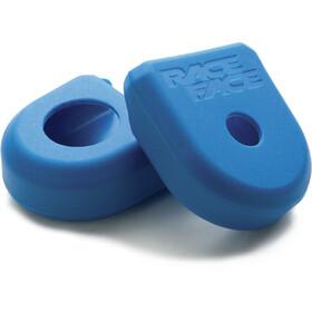 Race Face Crank Boot Akcesoria korby/łożyska Small niebieski